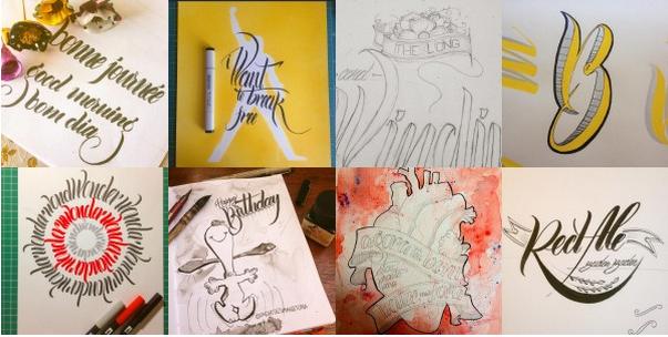Curso de lettering com Um Cartaz  Uma História